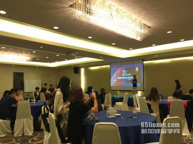 通常高中学生学习任务量大,难度高,学生为进入新加坡公立大学和世界著
