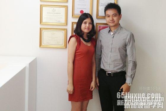 新加坡莱佛士高等教育学院授权委托教外留学为中方招生代表